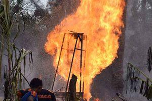 Indonesia: Cháy giếng dầu, gần 60 người chết và bị thương