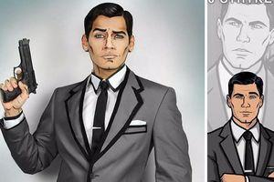 Màn cosplay hoàn hảo thành nhân vật hoạt hình của Jonathan Stryker