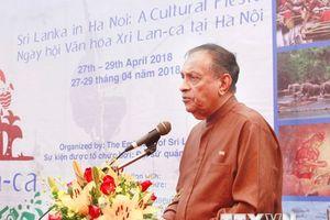 Khai mạc Ngày hội Văn hóa Sri Lanka tại Hà Nội