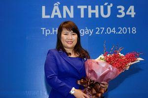 Bà Lương Thị Cẩm Tú trúng cử vào Hội đồng quản trị Eximbank