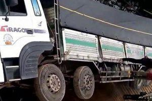 Lâm Đồng: Sập cầu 5 tấn do xe tải 18 tấn đi qua