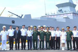 Tàu khu trục Hải quân Singapore thăm xã giao Đà Nẵng