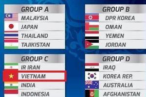 Kết quả bốc thăm VCK U16 châu Á: Việt Nam đụng độ Iran