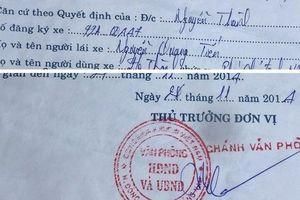 Lái xe tố bị 'quỵt' tiền khi chở lãnh đạo về nhà riêng