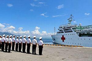 Tàu 561 của Hải quân Việt Nam tham gia diễn tập KOMODO 2018 tại Indonesia
