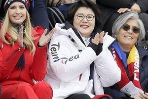 Ivanka Trump xem trượt ván cùng Đệ nhất phu nhân Hàn Quốc
