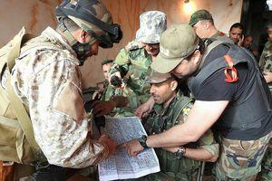 Quân đội Syria ác chiến phiến quân IS tại 'nồi hầm' nam Damascus