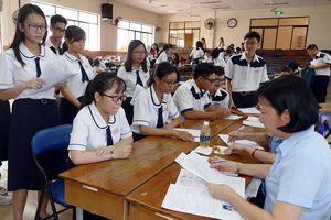 Nhiều thí sinh chỉ thi THPT để xét tốt nghiệp