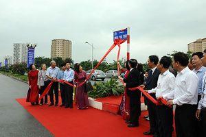 Hà Nội: Gắn biển tên 3 đường phố mới