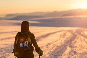 Phương Thanh chinh phục 224 km đường băng ở Bắc Cực
