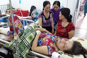 Người phụ nữ bị sét đánh, dây chuyền trên cổ tan chảy