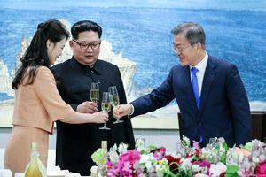 Lãnh đạo Hàn - Triều cùng phu nhân dự tiệc chiêu đãi