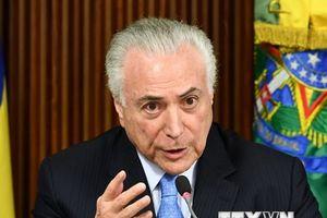 Tổng thống Brazil Michel Temer bác bỏ những cáo buộc tham nhũng mới