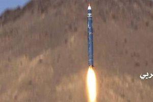 Tên lửa đạn đạo Houthi nổ tung bởi đòn đánh của Saudi