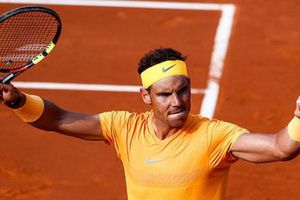 Thắng trắng set 2, Rafael Nadal còn cách chức vô địch Barcelona Open đúng một trận đấu