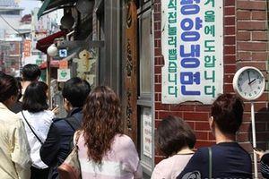 Mỳ lạnh Triều Tiên 'hút' khách sau cuộc gặp gỡ lịch sử
