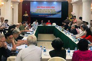 Hội thảo khoa học về Anh hùng, liệt sĩ Đào Phúc Lộc