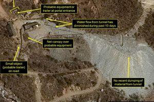 Tình báo Mỹ không tin Triều Tiên phá hủy bãi thử nghiệm hạt nhân