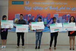 Cuộc thi 'Khởi nghiệp vì thành phố tôi yêu' thành công tốt đẹp