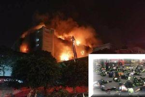 7 lính cứu hỏa Đài Loan thương vong khi giải cứu 200 công nhân Việt