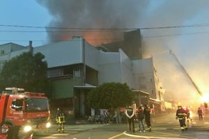 Đài Loan: Cháy nhà máy có nhiều người Việt, 5 lính cứu hỏa và 2 lao động nước ngoài thiệt mạng