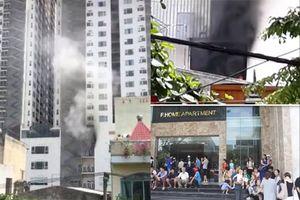 Cháy chung cư cao 27 tầng ở Đà Nẵng, cư dân hoảng loạn bỏ chạy