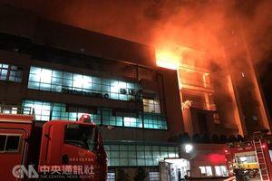 Hỏa hoạn tại Đài Loan, chưa phát hiện công dân Việt Nam thương vong