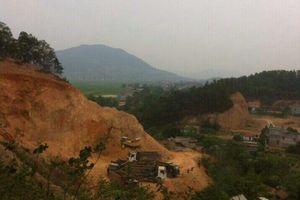 Bắc Giang: Khai thác đất trái phép, khu di tích lâm nguy