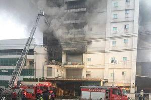 Cháy nhà máy ở Đài Loan, 5 lính cứu hỏa thiệt mạng