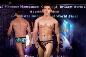 Siêu mẫu Minh Trung dẫn đầu bình chọn trước chung kết Mister International 2018