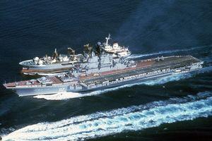 Vì sao Nga chưa thể trở thành cường quốc tàu sân bay?