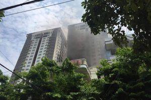 Chập điều hòa gây hỏa hoạn, dân hoảng hồn tháo chạy khỏi chung cư
