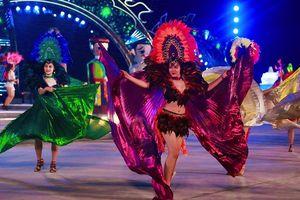 Mãn nhãn với những màn trình diễn hấp dẫn ở Carnaval Hạ Long 2018