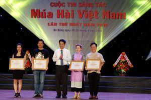 3 tác phẩm đạt giải A cuộc thi sáng tác múa hài