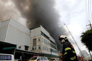 Vụ cháy nhà xưởng tại Đài Loan: Hơn 160 lao động Việt tạm nghỉ việc