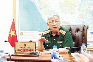 Thượng tướng Nguyễn Chí Vịnh: 'Quan trọng nhất phải giữ được hòa bình, độc lập, tự chủ'
