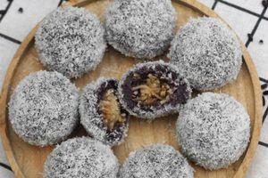 Nghỉ lễ tranh thủ làm ngay bánh nếp cẩm bọc dừa dẻo thơm siêu ngon mời cả nhà