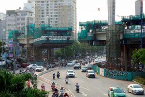 Tuyến metro đầu tiên ở TP.HCM dần thành hình