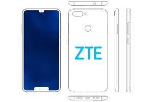 ZTE được cấp bằng sáng chế smartphone màn hình 'tai thỏ' kép