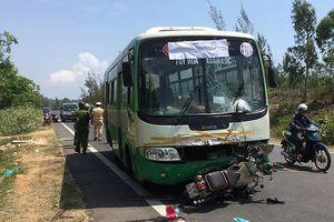 Cô gái trẻ bị xe buýt tông chết