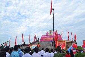 Lễ thượng cờ thống nhất non sông tại vĩ tuyến 17