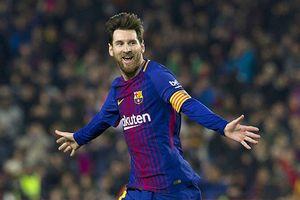 Messi vượt Salah ở cuộc đua giày vàng châu Âu