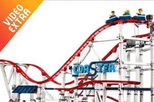 Tàu lượn vòng siêu tốc phiên bản lắp ghép của LEGO