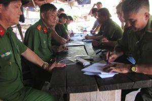 Bộ Tư lệnh Biên phòng kiểm tra khu vực bắt gỗ của Phượng 'râu'