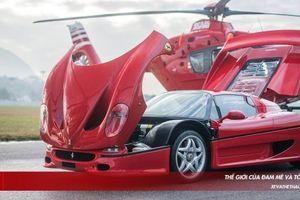 Khám phá 'chất độc' trên Ferrari F50 hàng hiếm khiến các đại gia thèm khát