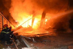 Nhờ Bộ Công an làm rõ nguyên nhân vụ cháy kho hàng tại khu công nghiệp ở Tiền Giang