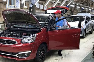 Mitsubishi sắp xuất khẩu trở lại xe sang Việt Nam
