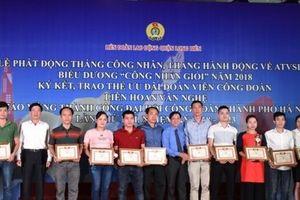 LĐLĐ quận Long Biên (TP. Hà Nội) khuyến khích công nhân phấn đấu trở thành công nhân giỏi