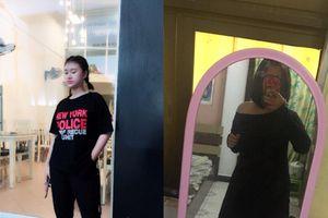 Cô nàng 9x 'nghiện' mặc đồ đen chỉ để…. 'giấu mỡ'