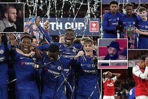 Hạ nhục Arsenal, Chelsea vô địch FA Cup